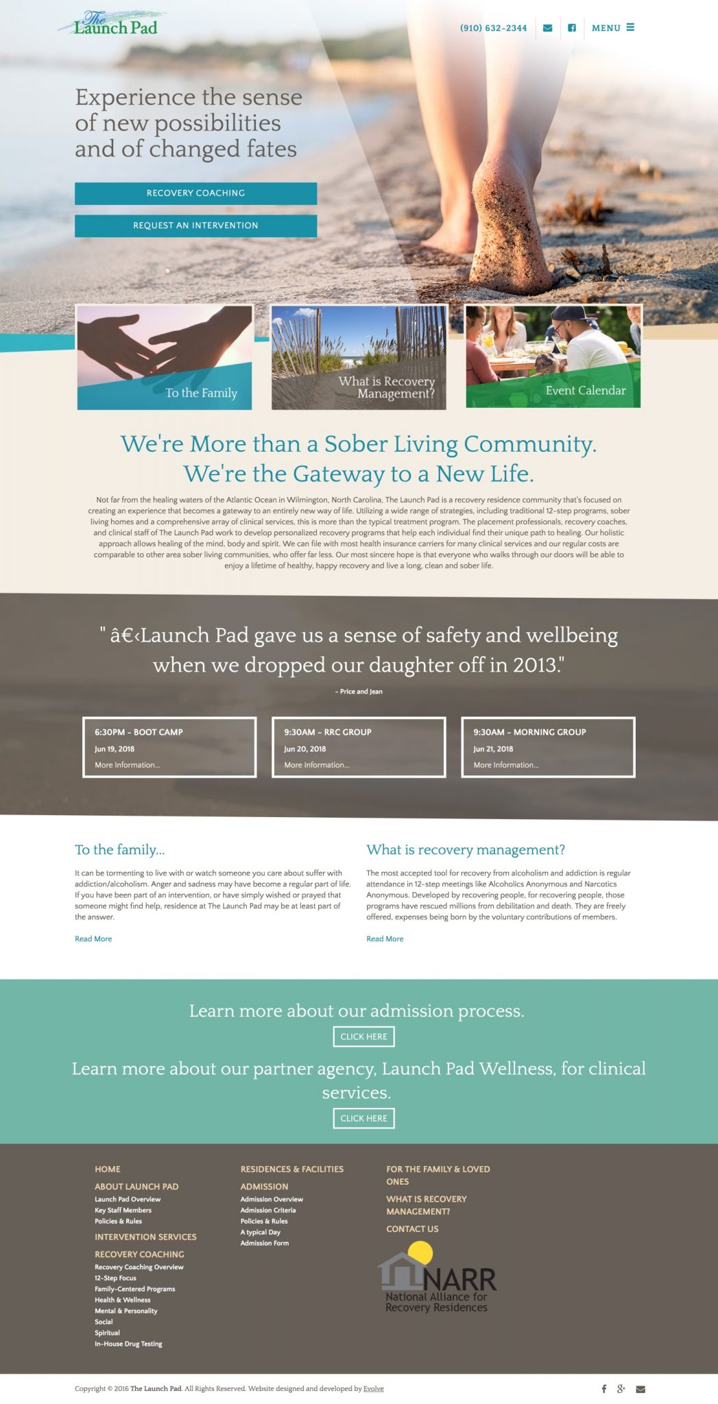 Launch Pad | Sober Living & Clinical Services in Wilmington, NC